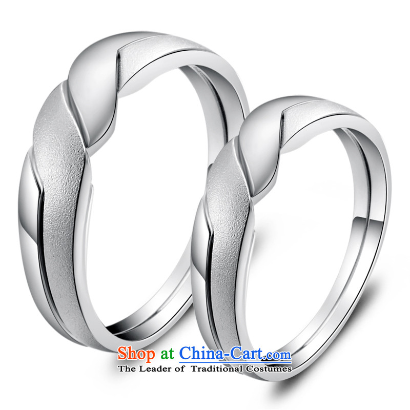 The ancient face of the silver love 925 silver rings female couple of male Korean ring silver jewelry products men a price
