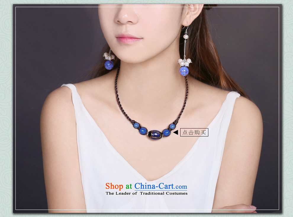 Gangnam-gu rainy ethnic earrings long temperament glass pearl retro China wind female聽925 silver coarse ear hook picture, prices, brand platters! The elections are supplied in the national character of distribution, so action, buy now enjoy more preferential! As soon as possible.