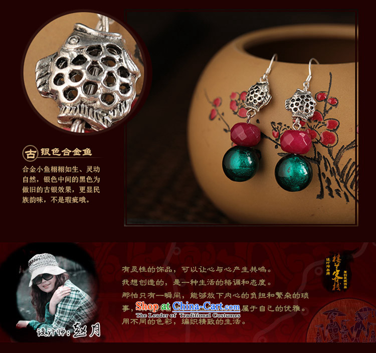 Glass Classical Chinese earrings sheikhs wind ears pierced ears female retro-ornaments of ethnic fall arrester for聽examination by the EAR 925_ANTI-ALLERGY plus 2 million picture, prices, brand platters! The elections are supplied in the national character of distribution, so action, buy now enjoy more preferential! As soon as possible.