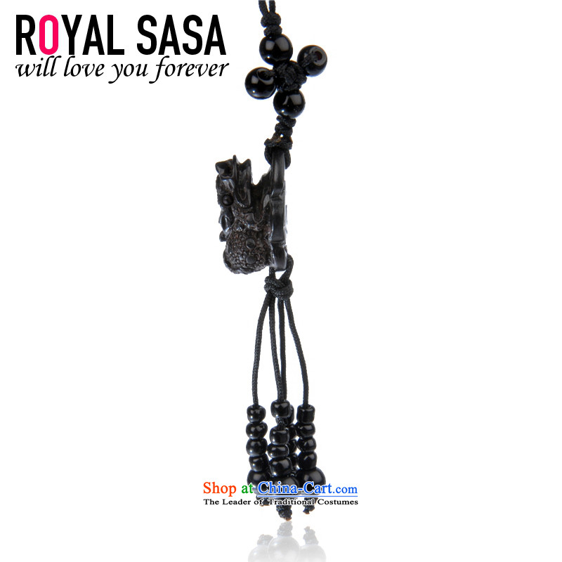 The Royal Sa Sa royalsasa China circumstances in dark mahogany style wood phone chain - MYSTIC FORCE
