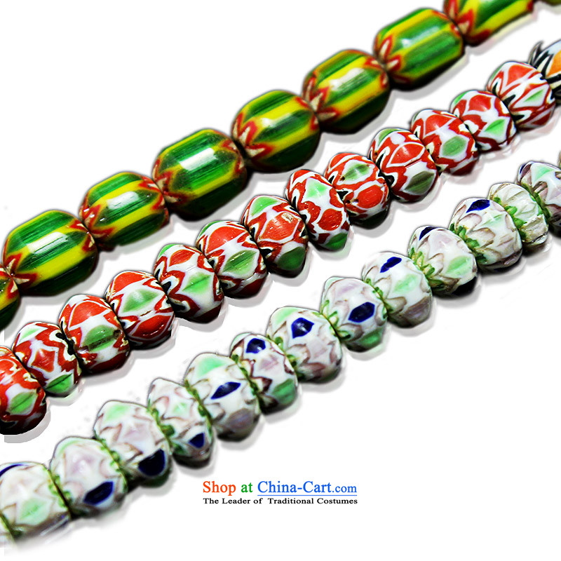 Good house-woo upscale Nepal ancient glass beads mt bead with Pearl River Delta across the Pearl of the heat sink manually beaded DIY jewelry accessories style 2 before sending the slice 1_10