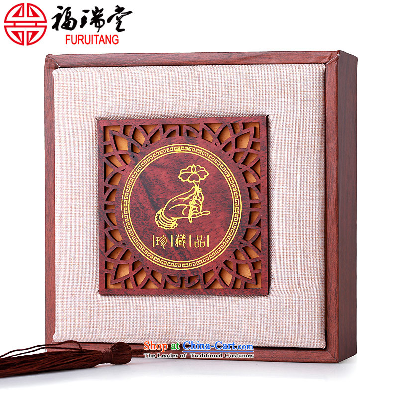 Bead bracelets hand tool storage bracelets string box gift box Red Sandalwood Xingyue jewelry admit cartridge organize cartridge green shade of ancient