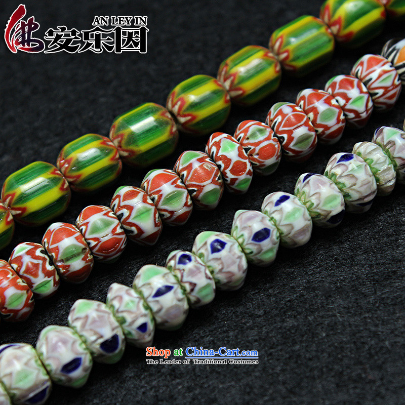 As a result of high Nepal ancient euthanasia glass beads mt bead with Pearl River Delta across the Pearl of the heat sink manually beaded DIY jewelry accessories style 3 spacers 8_5mm _25 _sent_10-2_