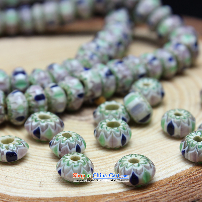 As a result of high Nepal ancient euthanasia glass beads mt bead with Pearl River Delta across the Pearl of the heat sink manually beaded DIY jewelry accessories style 3 spacers 8*5mm $25/10-2 (sent by euthanasia has been pressed shopping on the Internet
