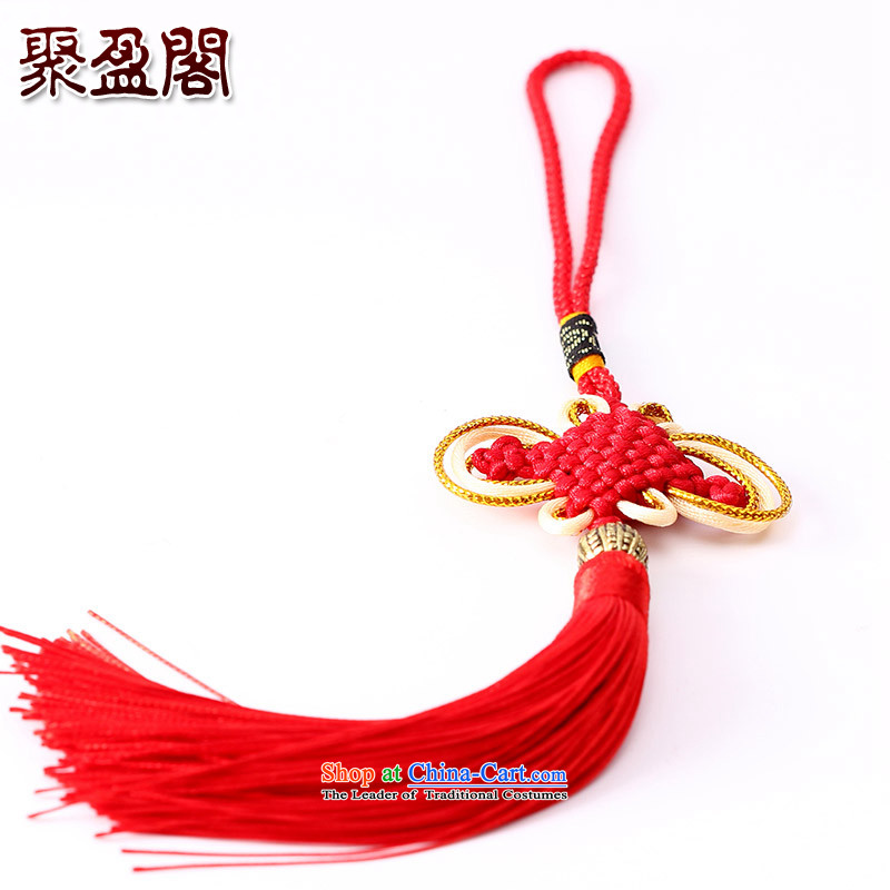 Successive gains Ascott International China well field in the design of the Phillips-head and contemptuous of hanging multi-color flow su tassels DIY addendum large red