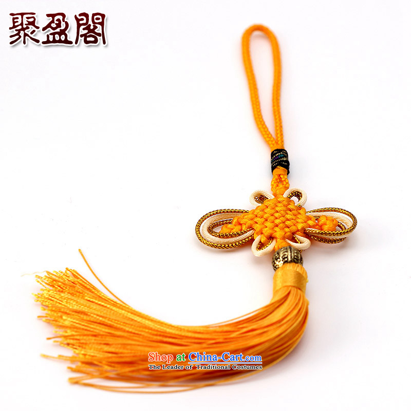 Successive gains Ascott International China well field in the design of the Phillips-head and contemptuous of hanging multi-color flow su tassels DIY Addendum Golden