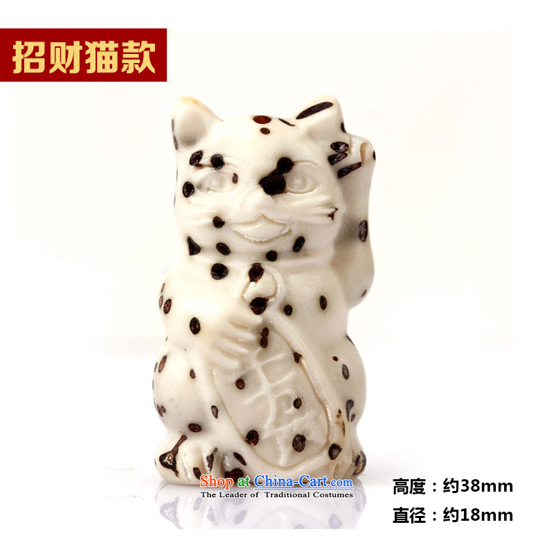 Natural eye bodhi-chin fine carvings well field bag hundreds of Chinese cabbage Zhao Cai cats Choi hang on the pendants DIY CT accessories cats, set the Ascott , , , Cheung shopping on the Internet