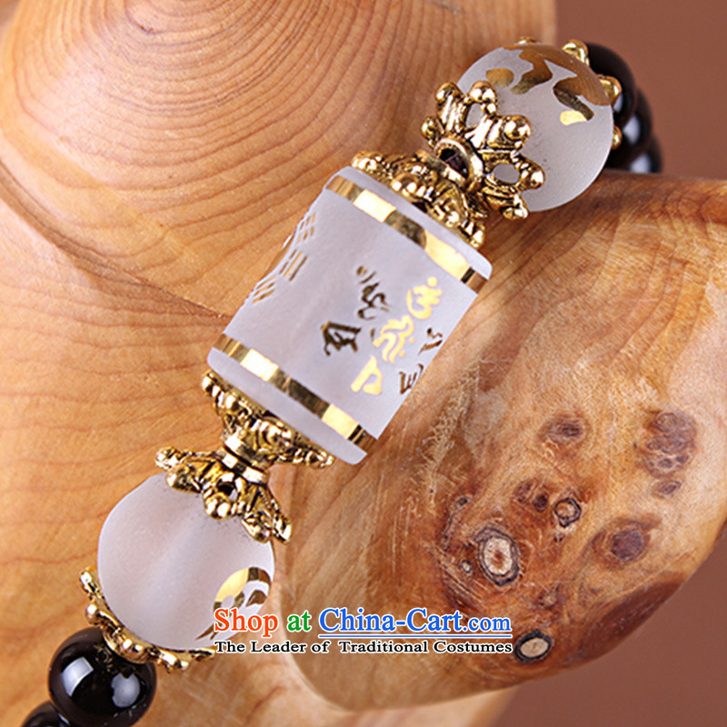12 animals of the Clare Albemarle black agate hand string black agate bead bracelets 108 multi-turn female couple of auspicious ornaments black agate, Mr. Clerides and Lunar New Year 6mm Albemarle (kelaiyabao) , , , shopping on the Internet