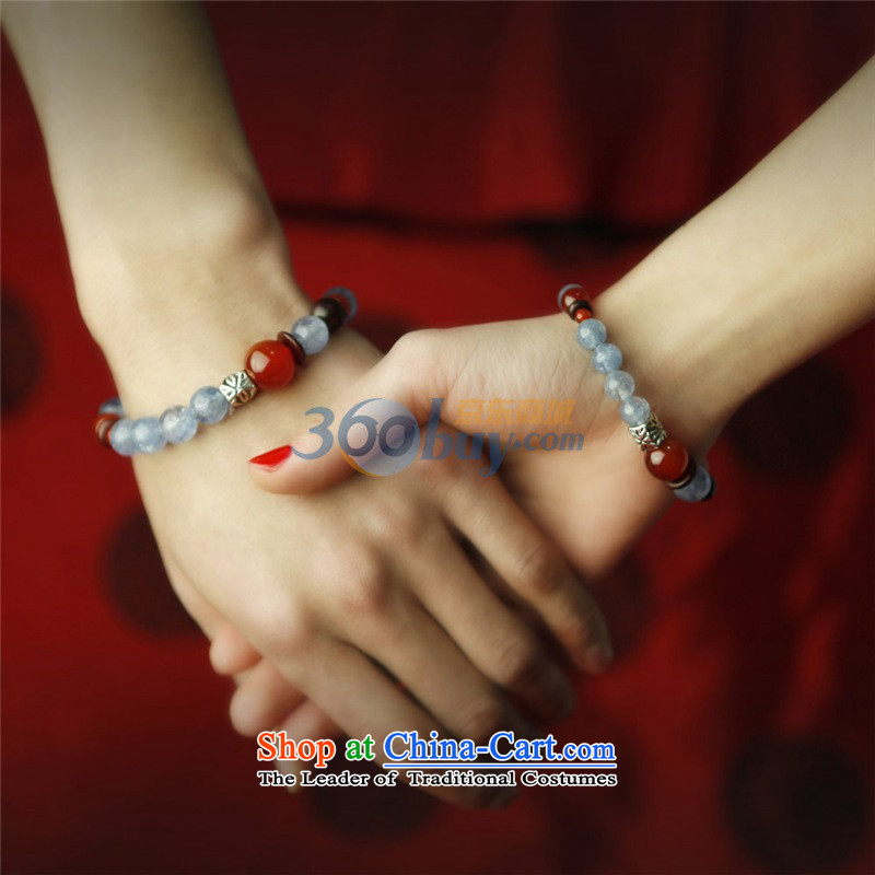 Phoenix Nirvana aquamarine Po Couple hand chain fashion original China wind handcrafted accessories from women 17CMAA101120210W, Phoenix Nirvana , , , shopping on the Internet