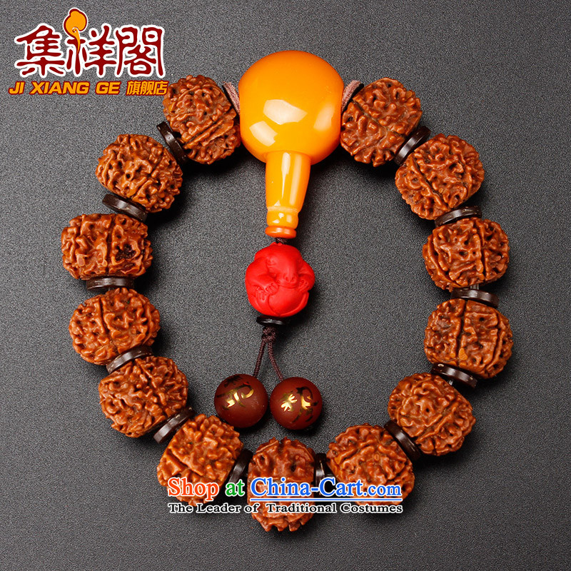 Set on 6 Ge Xiang Vajra Bodhi hands string 2016 is the year of the monkey, cinnabar snake five lines of code-Kai Tai Hand chain men of the Chinese zodiac snake, set the Ascott , , , Cheung shopping on the Internet