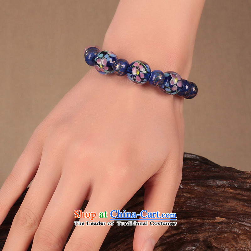The glass-bead jewelry beaded bracelets, String retro ethnic hand chain jewelry products China wind female