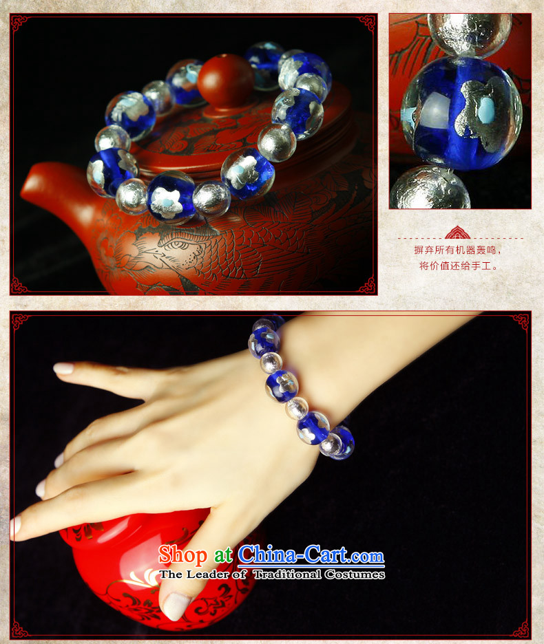 Phoenix Nirvana Hand chain female blue glass and white flowers foil glass beads original China wind DIY jewelry AA108120610W picture, prices, brand platters! The elections are supplied in the national character of distribution, so action, buy now enjoy more preferential! As soon as possible.