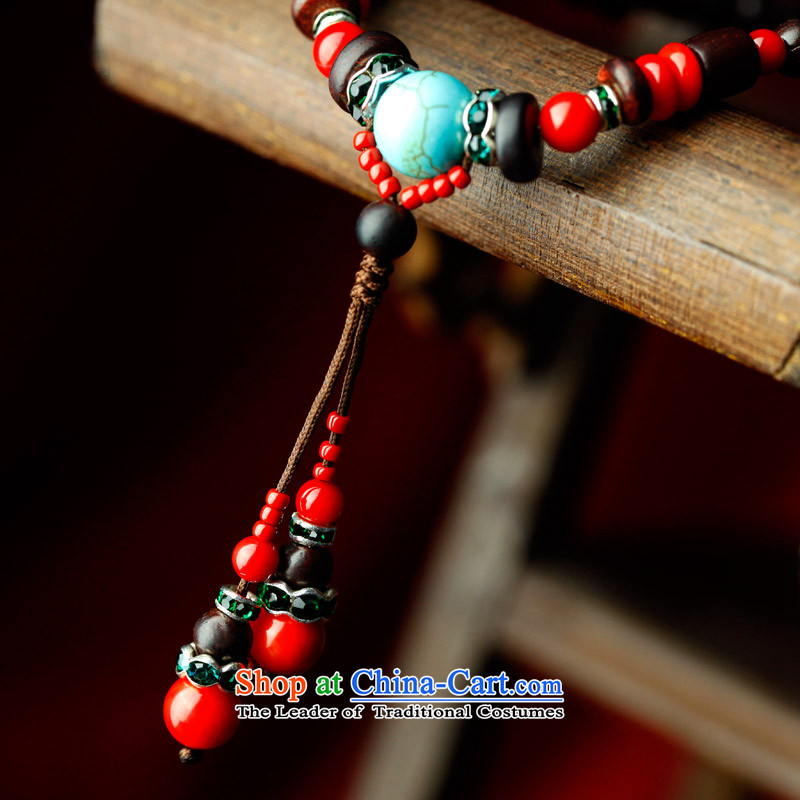 Phoenix Nirvana Hand chain female multi-tier Giant Leaf retro red sandalwood bead hand string original China wind ornaments of the retreat in Arabic AB047121210W, Phoenix Nirvana , , , shopping on the Internet