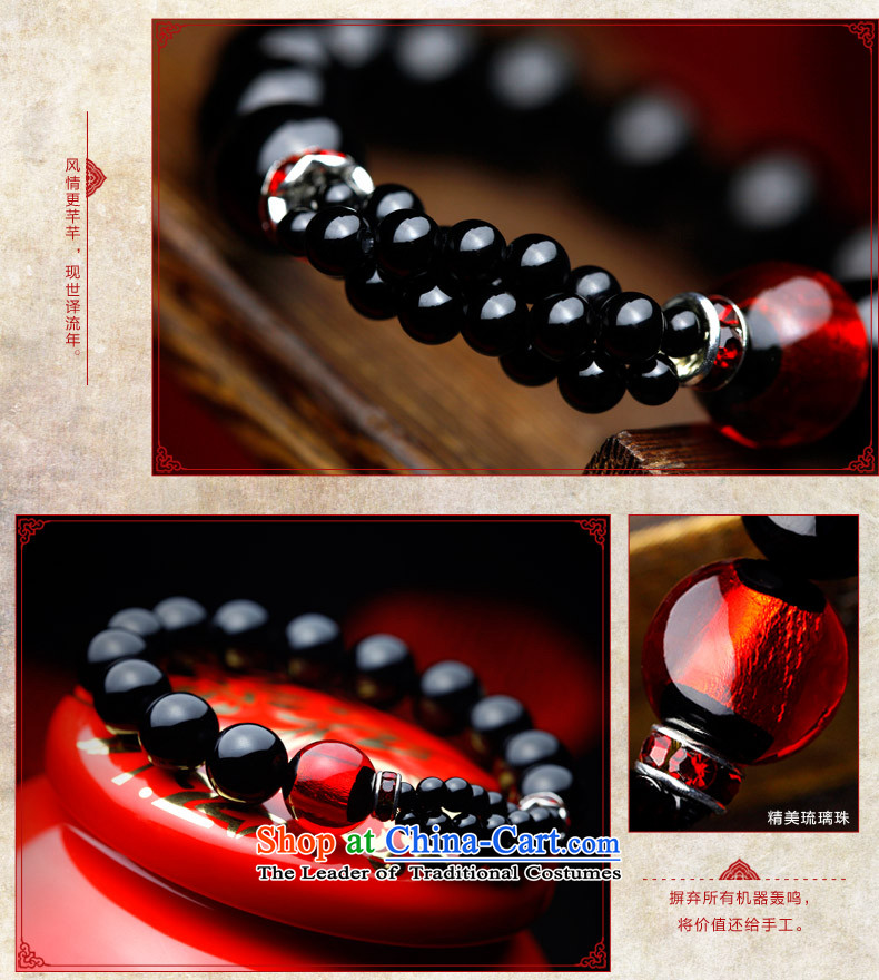 Phoenix Nirvana Hand chain stylish girl natural black agate glass beads original manually DIY China wind ornaments AA113121210W picture, prices, brand platters! The elections are supplied in the national character of distribution, so action, buy now enjoy more preferential! As soon as possible.