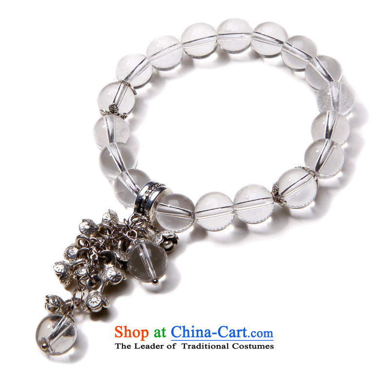 Phoenix Nirvana Hand chain female Sleek and versatile natural white crystal original DIY China Wind Flower AA065130110W Ornaments