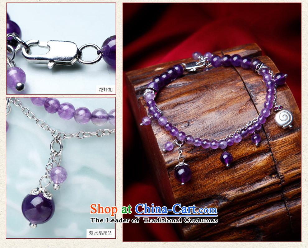 Phoenix Nirvana original innovation, chains female Sleek and versatile natural Amethyst China wind ornaments R22130515 manually picture, prices, brand platters! The elections are supplied in the national character of distribution, so action, buy now enjoy more preferential! As soon as possible.