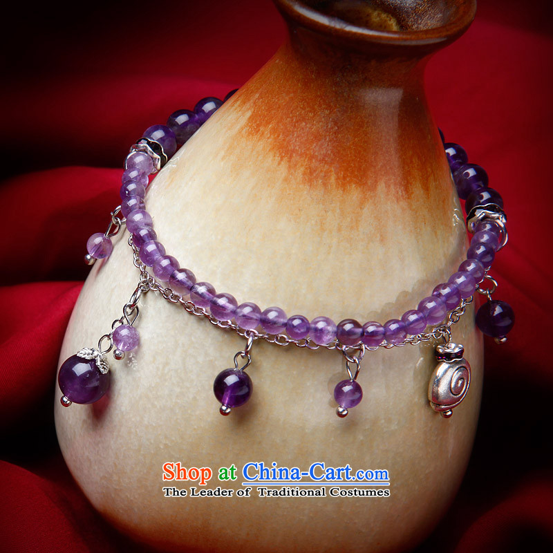Phoenix Nirvana original innovation, chains female Sleek and versatile natural Amethyst China wind manually R22130515, ornaments Phoenix Nirvana , , , shopping on the Internet