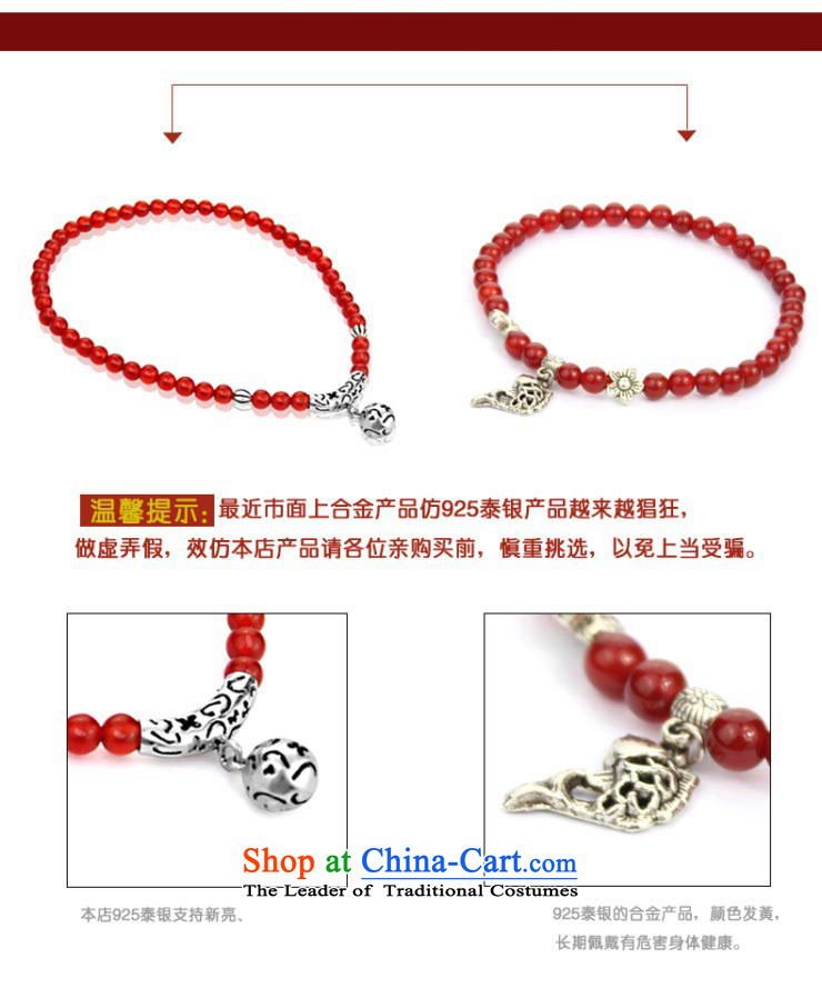 The OSCE S925 Ngan Yin Tai Silver China wind Red Agate female stylish early summer chains for Valentine's day by the GIFT girlfriend short of chains /20CM perimeter of about picture, prices, brand platters! The elections are supplied in the national character of distribution, so action, buy now enjoy more preferential! As soon as possible.