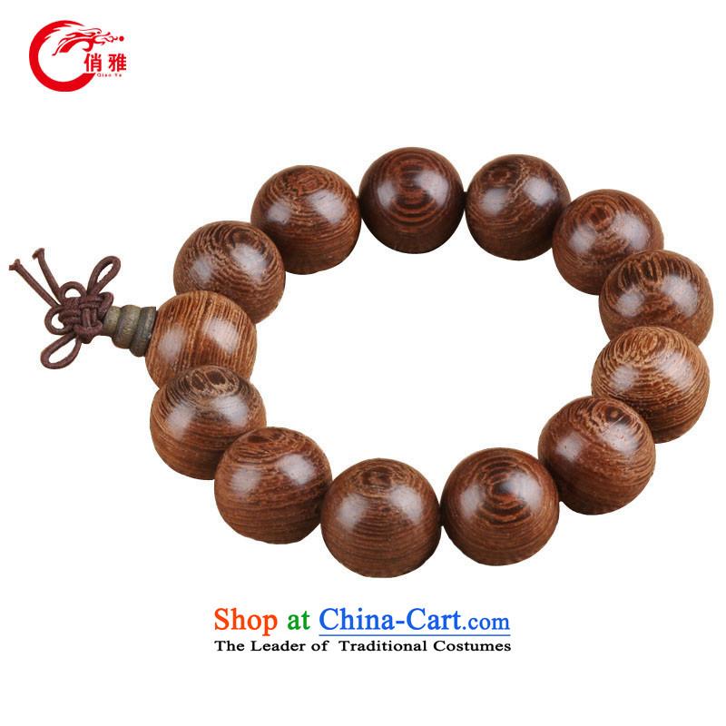 For Nga natural wenge bead 10-20MM TABLE hand bead wenge bead hand string wenge single ring bead bracelets China wind hand jewelry hand bead wenge 18MM