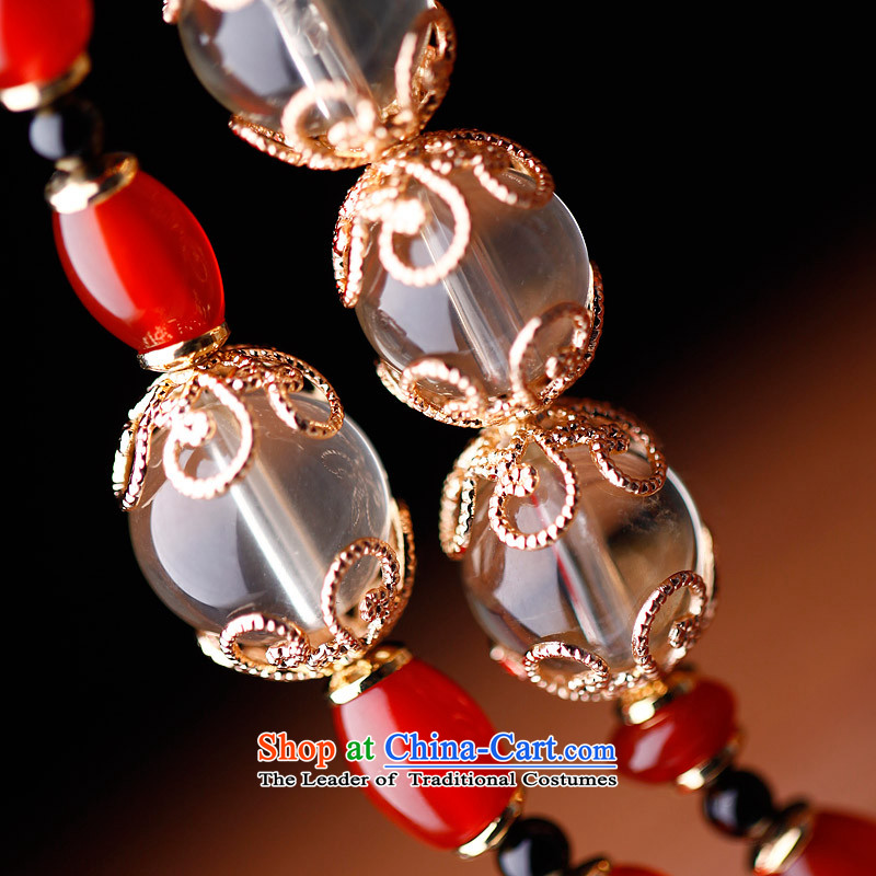 Phoenix Nirvana original hand chain female multi-storey Red Agate crystal hand string China wind ornaments AA030140210W race rabbit bracelet, Phoenix Nirvana , , , shopping on the Internet