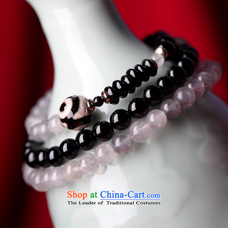 Phoenix Nirvana original hand chain female retro multi-storey dark cloud of agate crystal China wind manually DIY jewelry AA007140210W TUNG three layers of armed bracelet, Phoenix Nirvana , , , shopping on the Internet