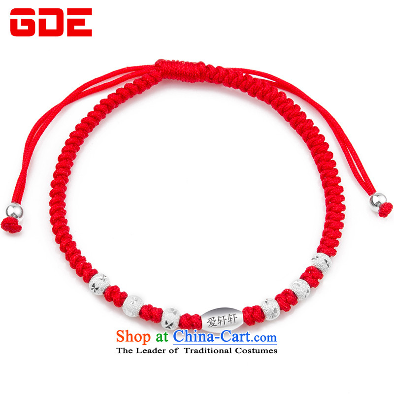 ?By order of the Board of the GDE twine men hand chain?S925 Silver Pearl of the Chinese zodiac sheep couples transshipment hand chain women Red Hand chain can be stamped red lettering please leave Gwang-ju