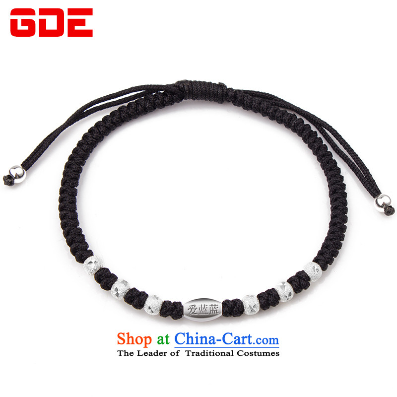 ?By order of the Board of the GDE twine men hand chain?S925 Silver Pearl of the Chinese zodiac sheep couples transshipment hand chain women Red Hand chain can be stamped black lettering please leave Gwang-ju
