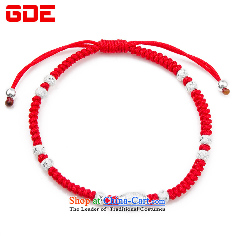 ?By order of the Board of the GDE twine men hand chain?S925 Silver Pearl of the Chinese zodiac sheep couples transshipment hand chain women Red Hand chain can be stamped upgrade transit Pearl