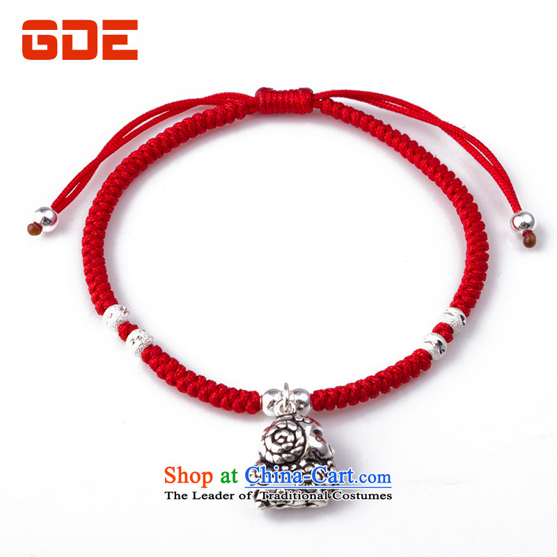?By order of the Board of the GDE twine men hand chain?S925 Silver Pearl of the Chinese zodiac sheep couples transshipment hand chain women Red Hand chain can be stamped by the year Tae-eun-mi sheep Hand chain
