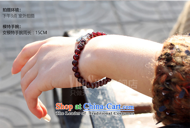 Vunsun natural crystal wine red pomegranates stone female silver hand string bead sheep in order this hand chain jewelry products Chinese Feast 8 mm diameter of the Pearl River Delta , the price and the picture 15-17 brand platters! The elections are supplied in the national character of distribution, so action, buy now enjoy more preferential! As soon as possible.