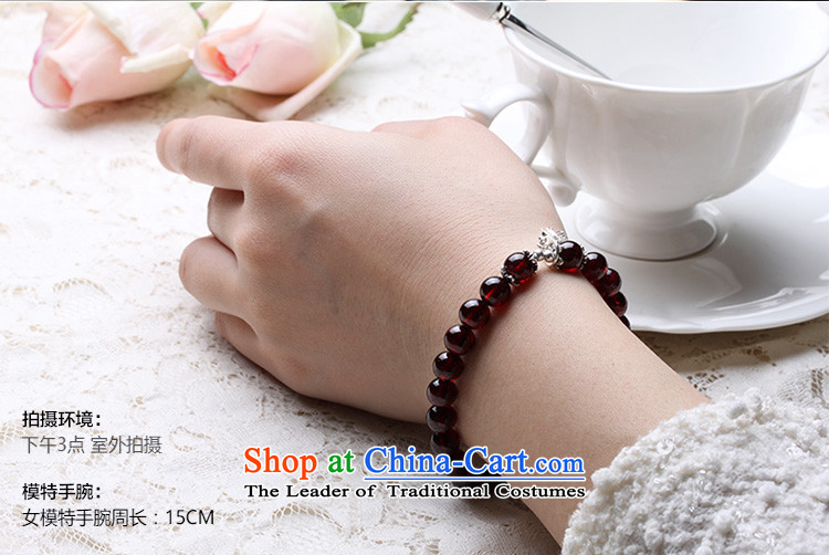 Vunsun natural crystal wine red pomegranates stone female silver hand string bead sheep in order this hand chain jewelry products Chinese Feast 8 mm diameter of the Pearl River Delta, the price and the picture 15-17 brand platters! The elections are supplied in the national character of distribution, so action, buy now enjoy more preferential! As soon as possible.