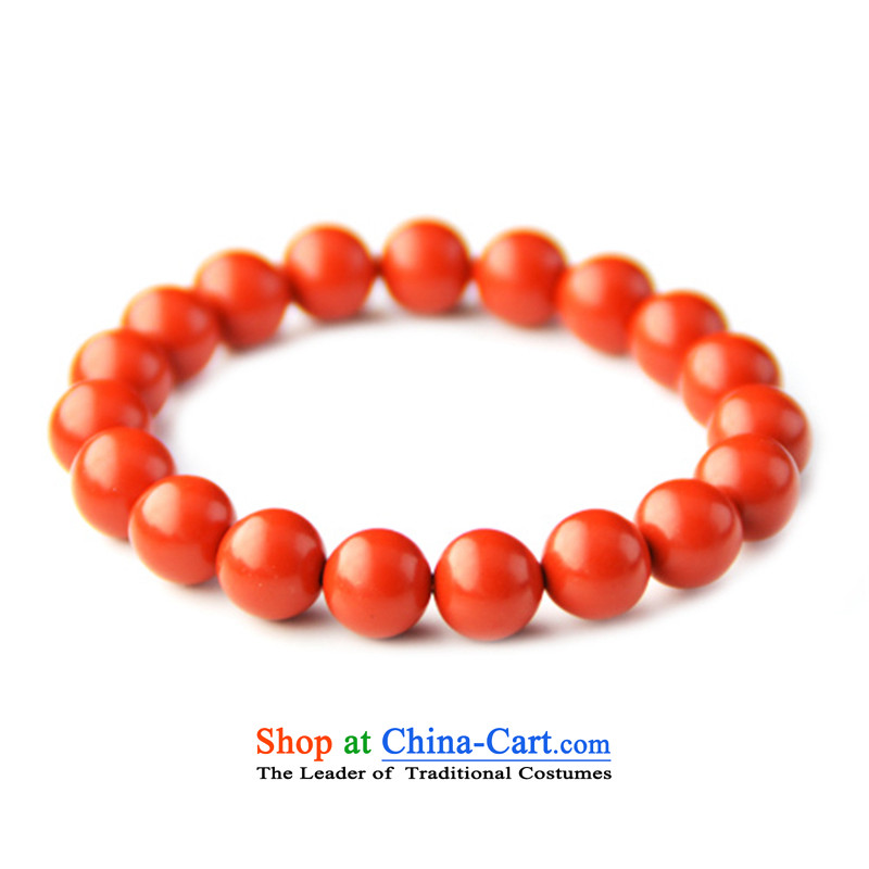 Beijing Stone Magenta cinnabar jewelry hand chain girls, 10mm in order this gift jewelry popular Chinese Wind