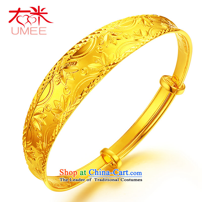 Right-m _umee_ jewelry retro China wind pattern gold plated wristlet i should be grateful if the president of push-pull resizable wedding bride bracelet