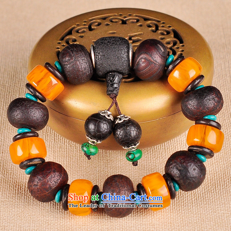 The Ascott around $Tsz silk agate hand chain men and women from ancient Tibetan Dzi Bead Turquoise Tibetan silver original national wind power light furnishings, Tsz$Kok shopping on the Internet has been pressed.