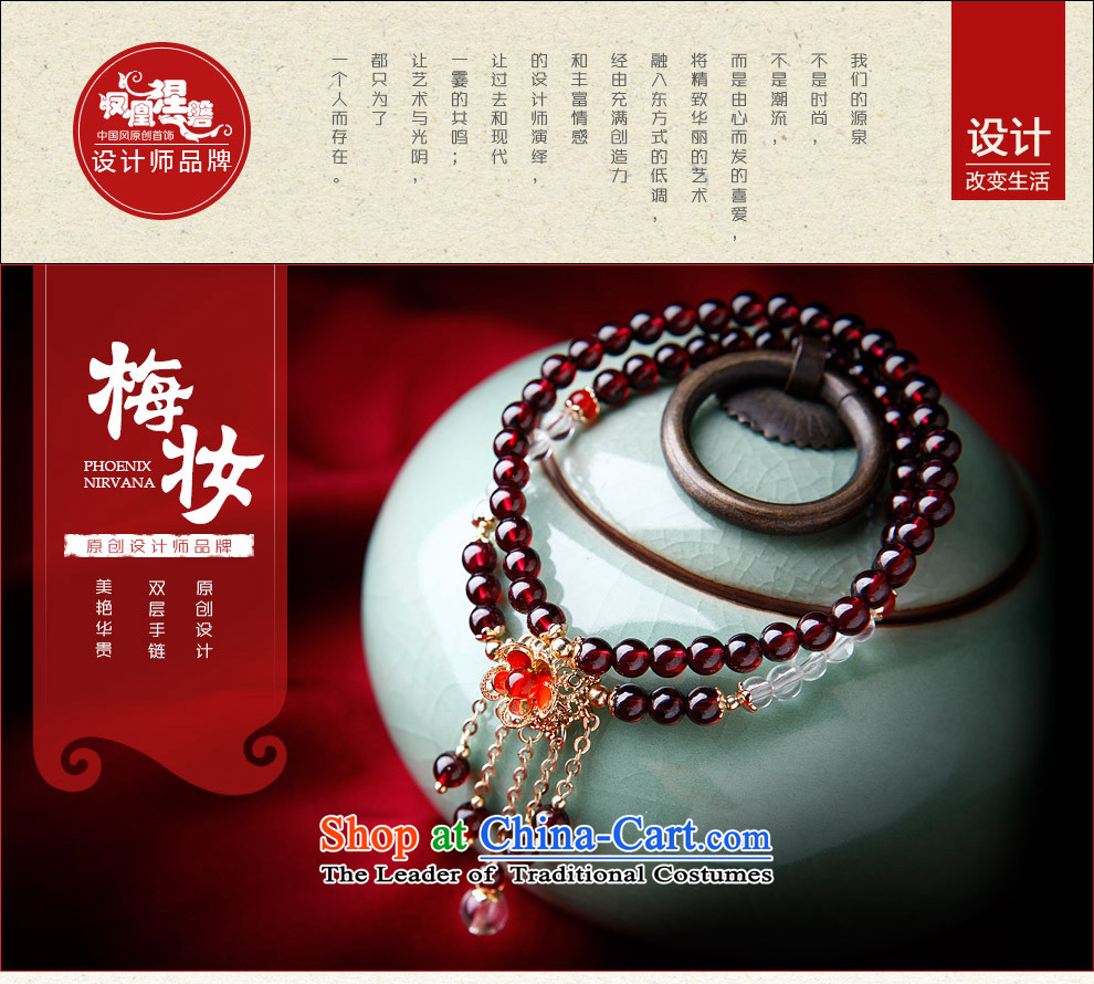 Phoenix Nirvana Hand chain female retro multi-storey white stone pomegranates crystal Red Agate hand string China wind ornamentsAA300150610W manuallyMui makeup hand chain picture, prices, brand platters! The elections are supplied in the national character of distribution, so action, buy now enjoy more preferential! As soon as possible.