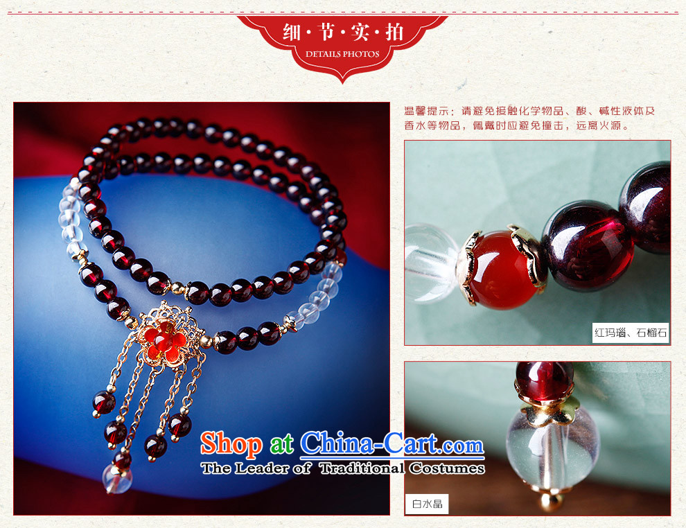 Phoenix Nirvana Hand chain female retro multi-storey white stone pomegranates crystal Red Agate hand string China wind ornaments AA300150610W manually Mui makeup hand chain picture, prices, brand platters! The elections are supplied in the national character of distribution, so action, buy now enjoy more preferential! As soon as possible.