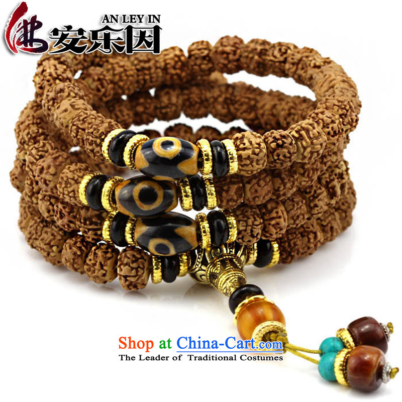 Tibetan style low piling small Vajra Bodhi sub 108 screws that bead bracelets Candida Albicans peaches to string lapis hand pearl original seed聽D of the Chinese zodiac, Lung