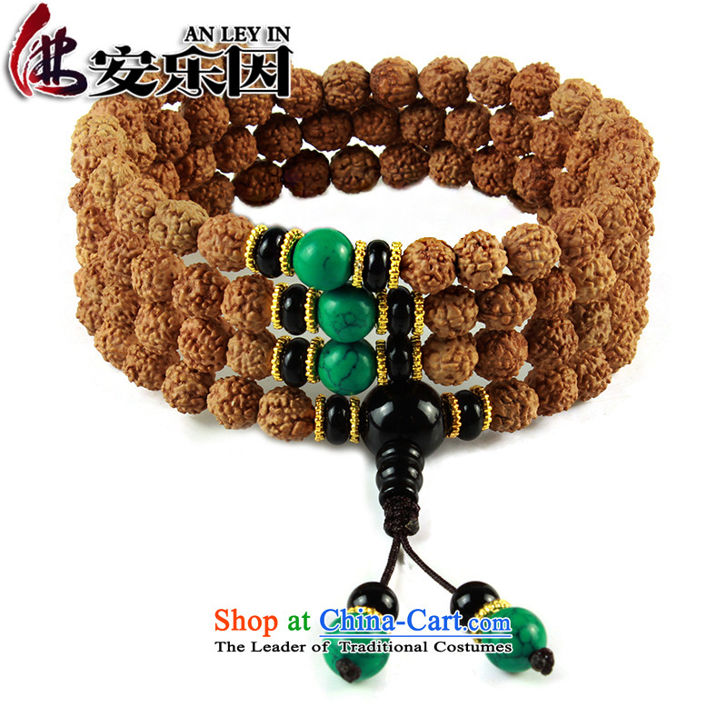 As a result of the original seeds euthanasia 5 star small Vajra Bodhi sub peaches 108 screws that bead bracelets multi-tier Candida Albicans skewers with turquoise style a Chinese zodiac dog