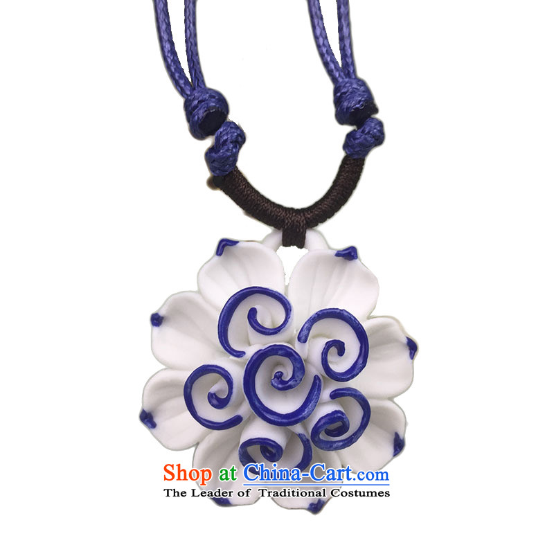 At the jade ornaments ceramic China wind sweater link porcelain a pendant