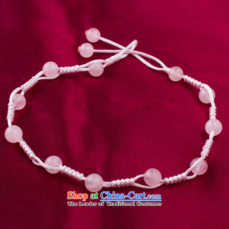 Covered in Namibia Red silver chains by order of the Board, the female crystal pomegranates stone hand woven China wind synthetic crystals toner powder crystal, covered in silver, Colombia has been pressed shopping on the Internet
