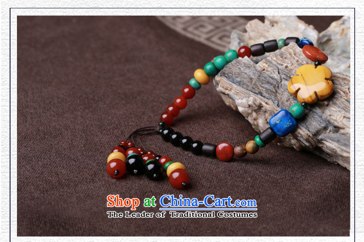 Gangnam-gu rainy manually China wind color stone chains of ethnic retro weaving female summer accessories ankle Circumference 24cm photo, prices, brand platters! The elections are supplied in the national character of distribution, so action, buy now enjoy more preferential! As soon as possible.