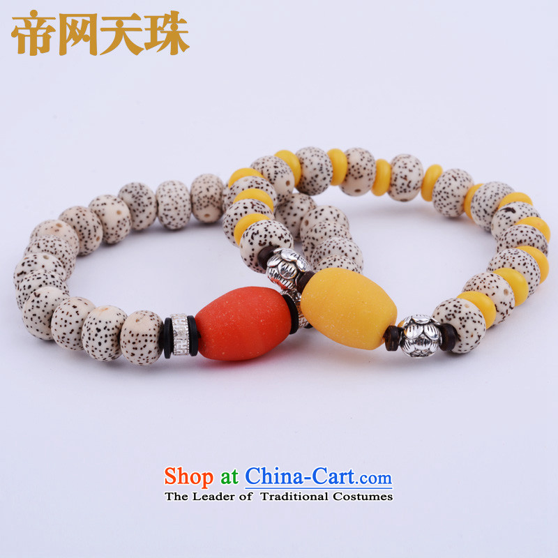 Kingcom Dzi Beads on the Law of the ancient trees Wong glass bead hand string men and women's law pumpkin Lau Li Dao Hand chain