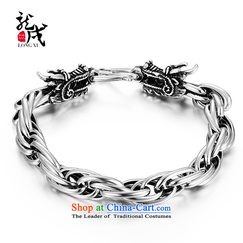 Dragon IPRC) China wind mixer men 925 Silver Jewelry Ornaments Stylish ornaments boys men hand chain weight approximately 30.16g