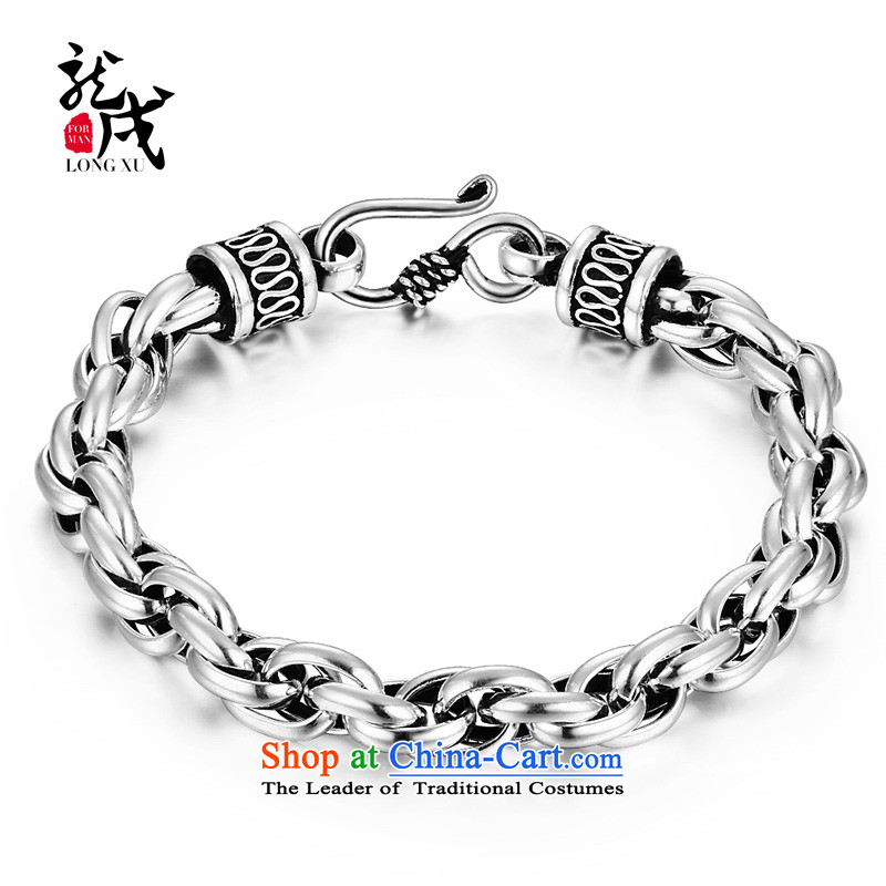 Dragon IPRC) China wind elegant 925 men silver jewelry hand chain jewelry stylish boys men ornaments in connection with g