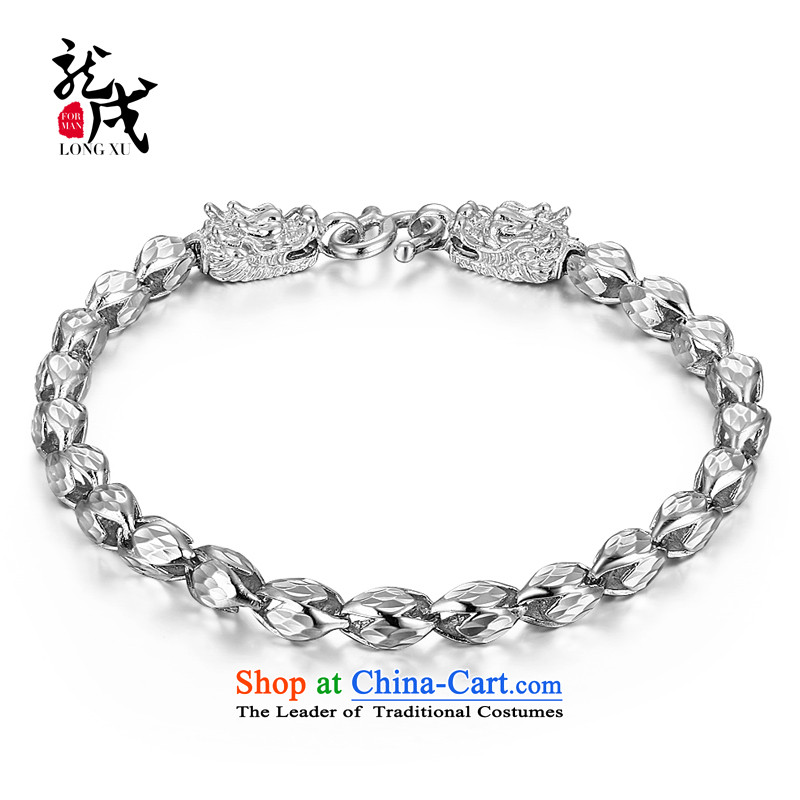 Dragon IPRC) China wind mixer 925 silver engraving Jewelry Ornaments stylish jewelry boys men hand chain weight approximately 10 gram