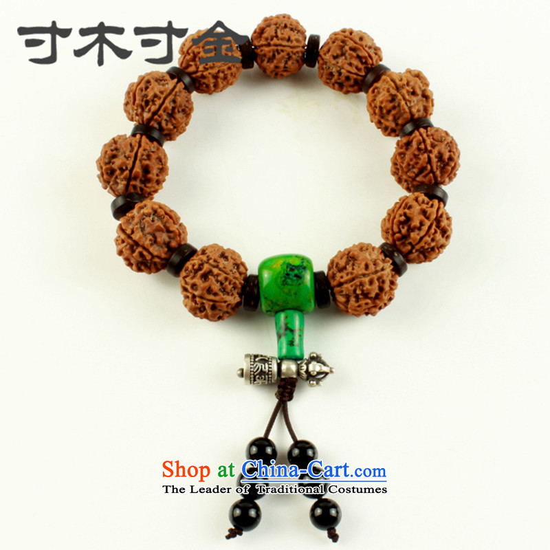 Inch inch 6 6   China Vajra Bodhi-Hand chain men from the bead chain to play with the Buddha's head_