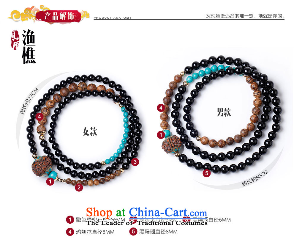 Phoenix Nirvana original hand chain of nostalgia for the black handle on the string of agate Mt China wind accessories peasants (hand chain ) male picture, prices, brand platters! The elections are supplied in the national character of distribution, so action, buy now enjoy more preferential! As soon as possible.