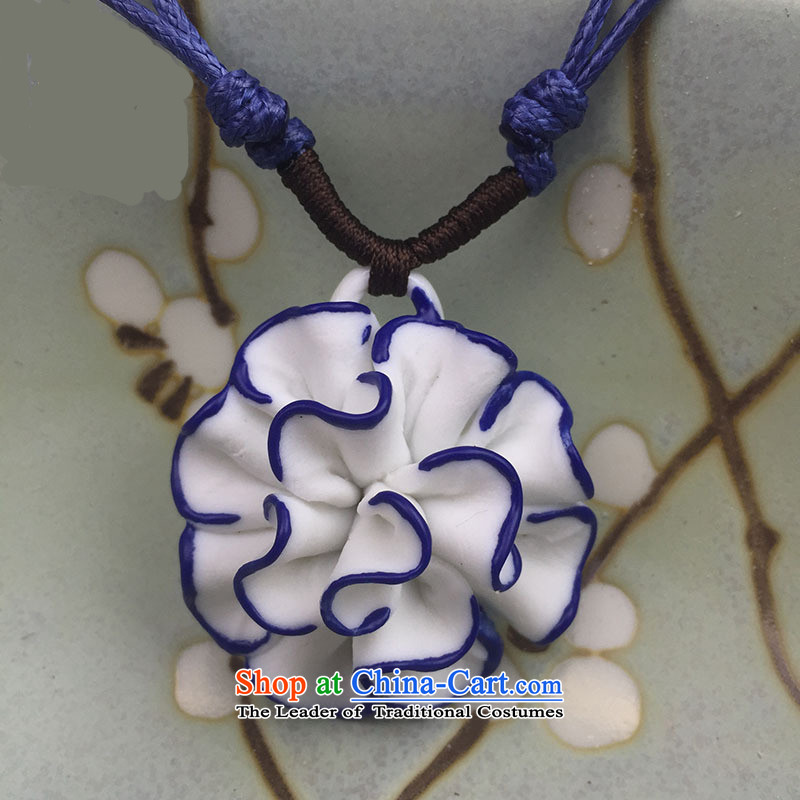 At the jade ornaments ceramic China wind sweater link porcelain pendants ii