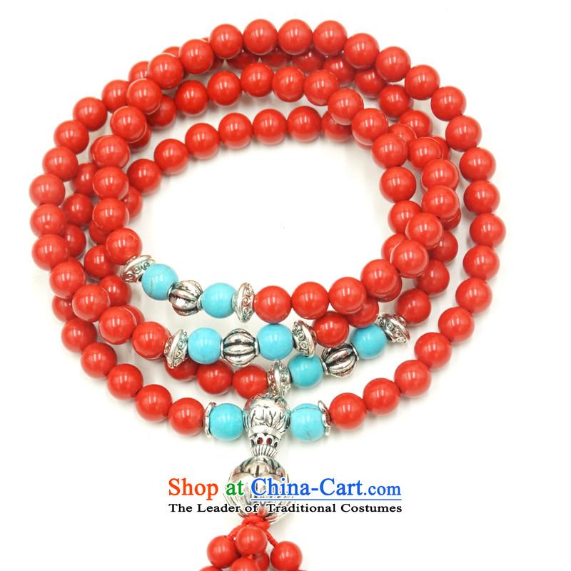 Yan Hongyu cinnabar hand chain cinnabar sweater chain series chinese red cinnabar women hand chain Valentine's girlfriend rushed couture, wall hangings_ 18