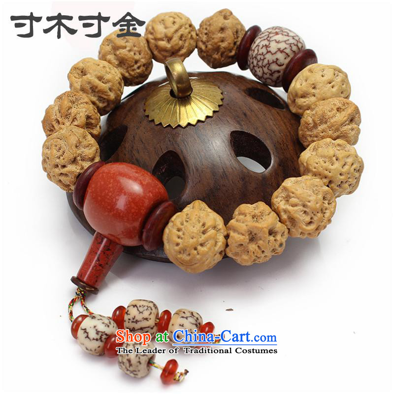 Inch inch of Tibetan style wood Nepal with corner longan bodhi hands-string papaya unicorn eye eyes Tiger Eye Bodhi sub-head of the Chinese zodiac, Buddha